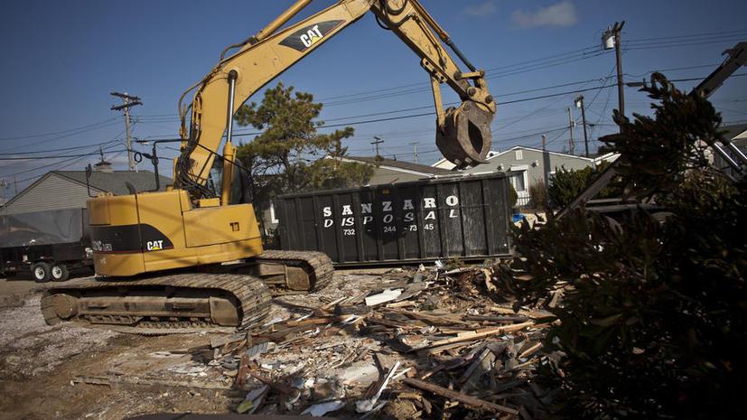 Обещанного год ждут: пострадавшие от урагана «Сэнди» до сих пор не получили необходимой финансовой помощи