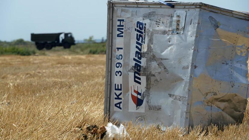 Правительство Нидерландов отказалось рассекретить данные о катастрофе Boeing в Донбассе
