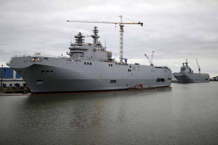 СМИ: Франция затопит российские «Мистрали»