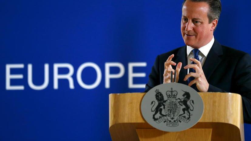 Дэвид Кэмерон намерен провести референдум о выходе Великобритании из ЕС в следующем году