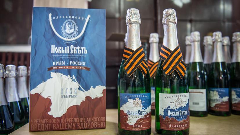 СМИ: В России могут запретить использовать георгиевские ленточки в рекламе алкоголя