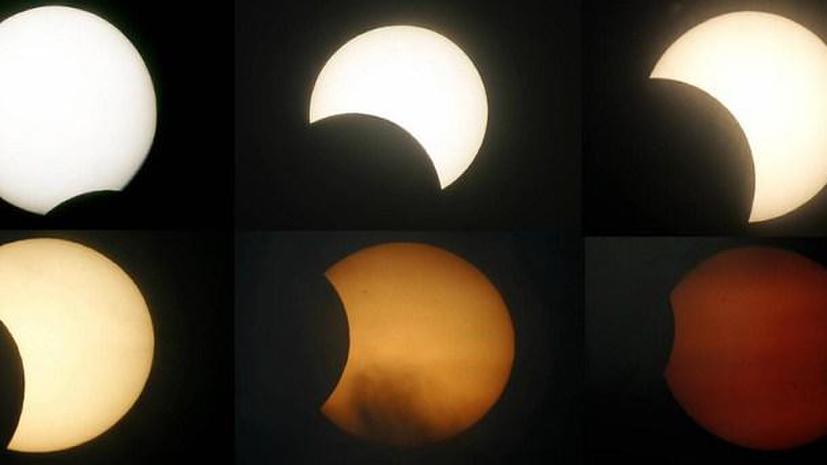 Гибридное солнечное затмение произойдёт 3 ноября