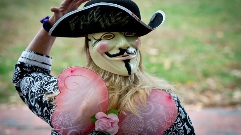 Хакеры Anonymous взломали сервер одесской таможни