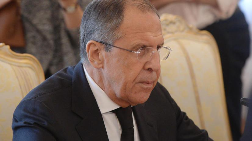 Сергей Лавров: Заявления США о защите с воздуха вооружённых отрядов в Сирии контрпродуктивны