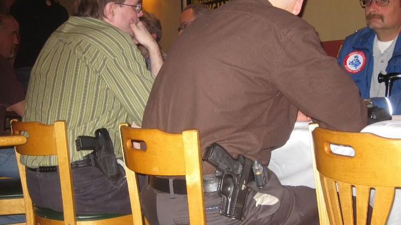 В США неизвестный открыл стрельбу в баре, застрелив одного человека