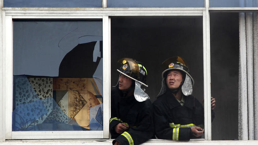 В результате пожара на птицефабрике в Китае погибли 112 человек
