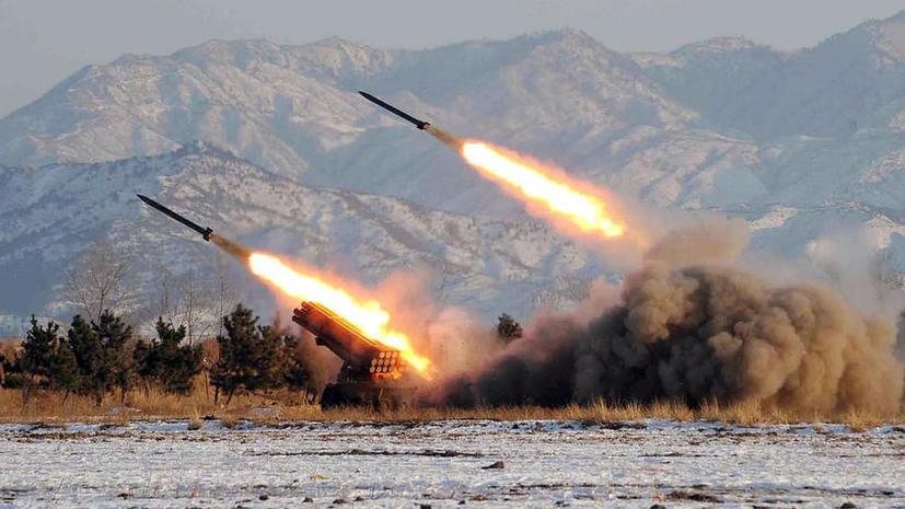 Северная Корея запустила шестую за три дня ракету малой дальности