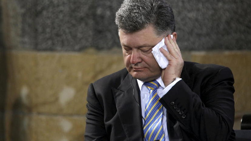 Пётр Порошенко вновь рассказал западной прессе о российских военных на Украине