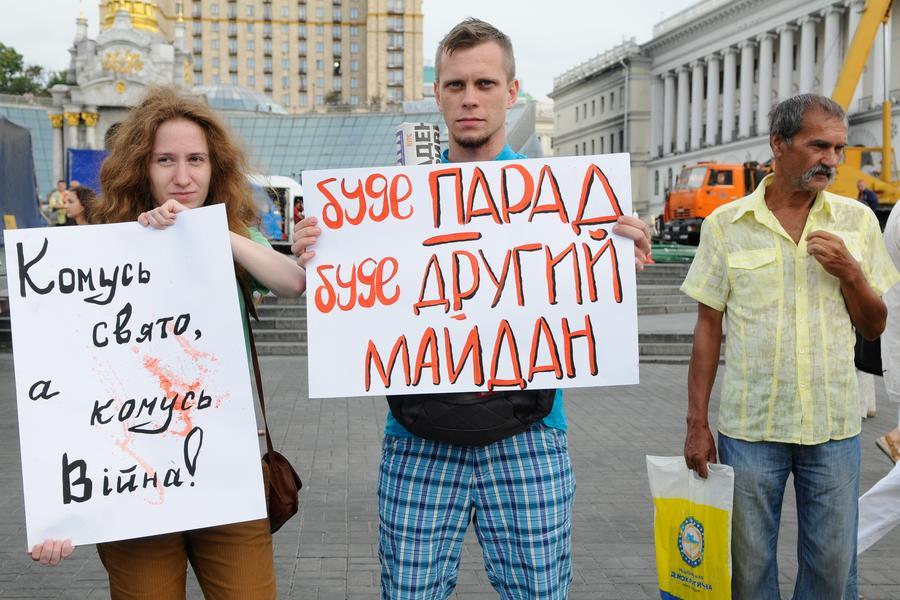 Участники спецоперации на востоке Украины пройдут по центру Киева в День независимости