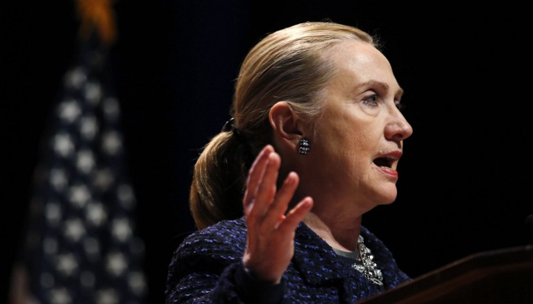 Хиллари Клинтон отравилась перед встречей с противниками Асада