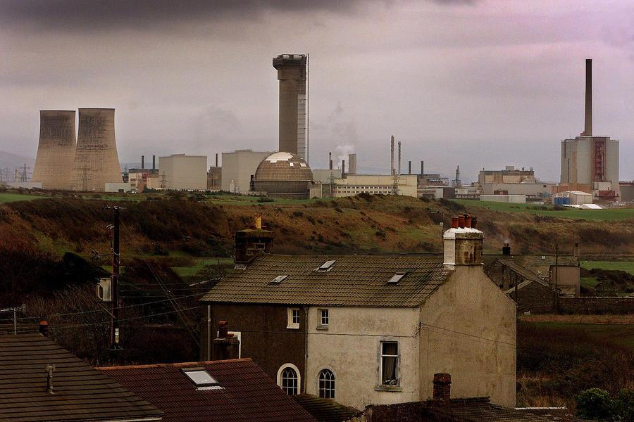 Работы на британском заводе по переработке ядерных отходов остановлены из-за превышения уровня радиации