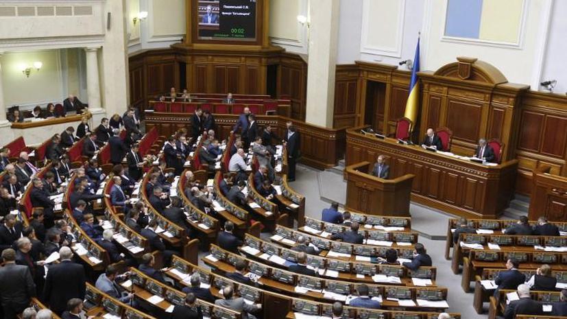 Парламент Украины принял закон, необходимый для получения помощи МВФ