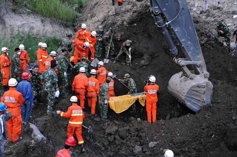 Найден первый погибший в завале на китайской шахте в Тибете