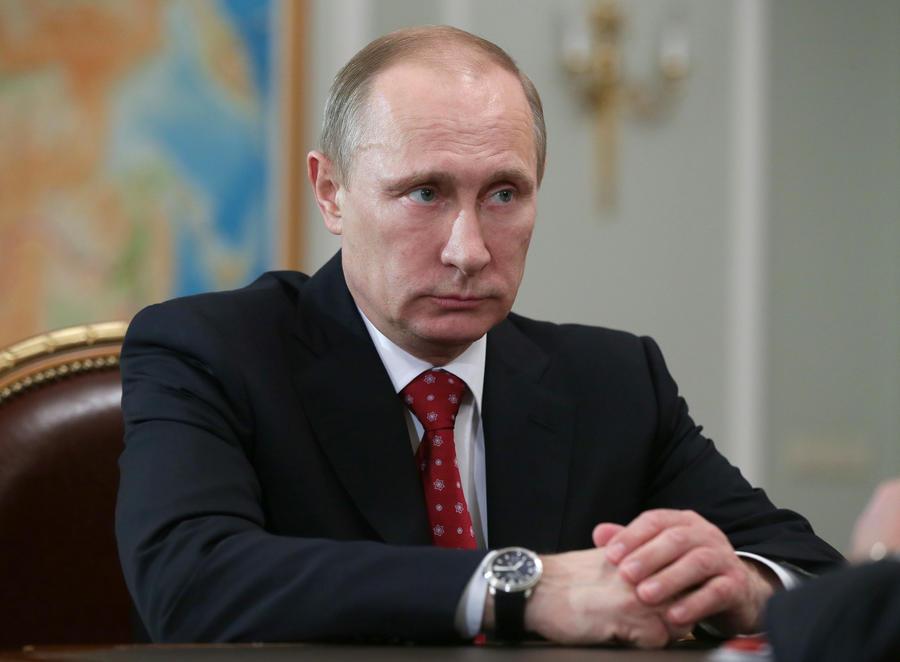 Путин призвал лидеров «восьмёрки» разделить ответственность за будущее мира