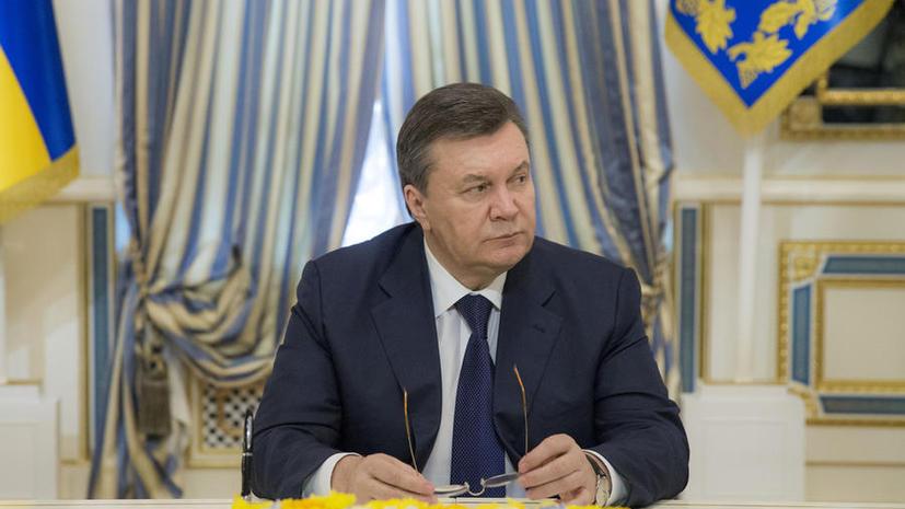 Виктор Янукович в интервью BBC поблагодарил Владимира Путина за спасение своей жизни