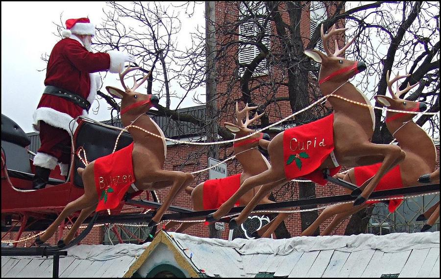 В споре за Арктику Канада выдвинула неожиданный аргумент: политиков беспокоит судьба Санта-Клауса