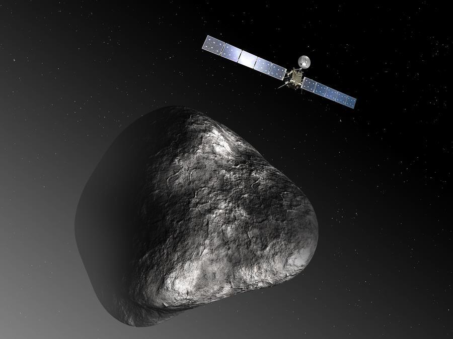Сигнал о пробуждении космического аппарата «Розетта» достиг Земли