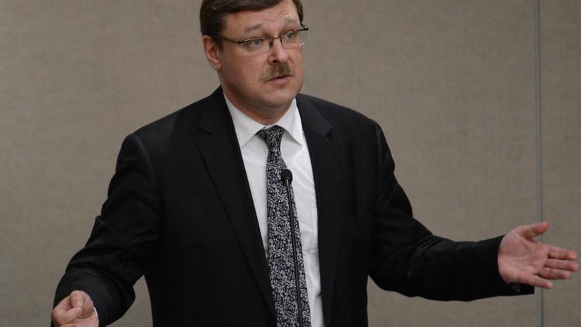 Константин Косачёв: США и ЕС долго и планомерно вкладывали гигантские средства в подготовку «евромайдана»