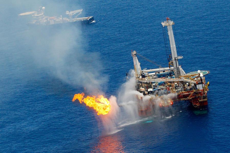 Разлив нефти в Мексиканском заливе в 2010 году поставил под угрозу популяцию тунца