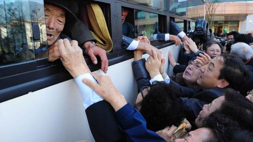 КНДР и Южная Корея начали переговоры о встрече разделённых семей