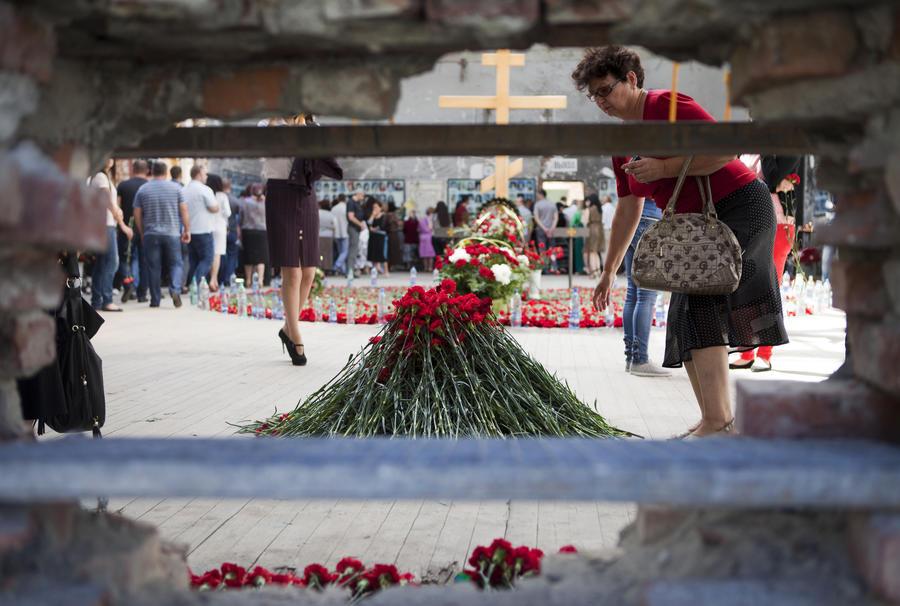 В Беслане проходит трёхдневная вахта памяти по жертвам теракта 2004 года
