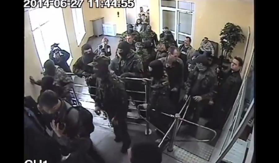«Правый сектор» угрожает сжечь здание УМВД Волынской области, если руководство управления не уйдёт в отставку