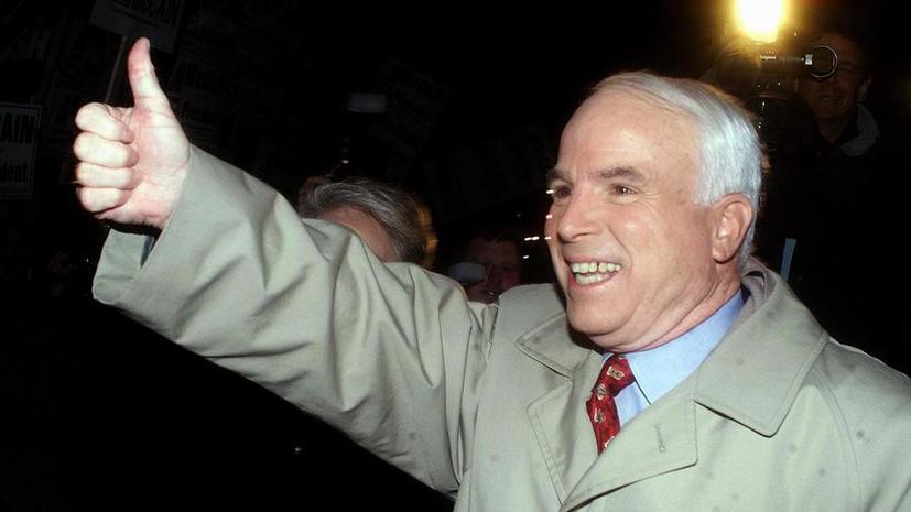 Американский сенатор Маккейн обещает Украине военную помощь на $100 млн