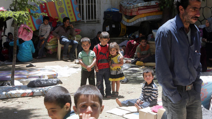 ООН: число беженцев в мире достигло рекордного уровня