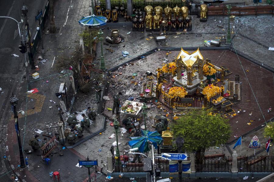 МВД Таиланда уточнило данные о жертвах теракта: 20 погибших и 123 раненых