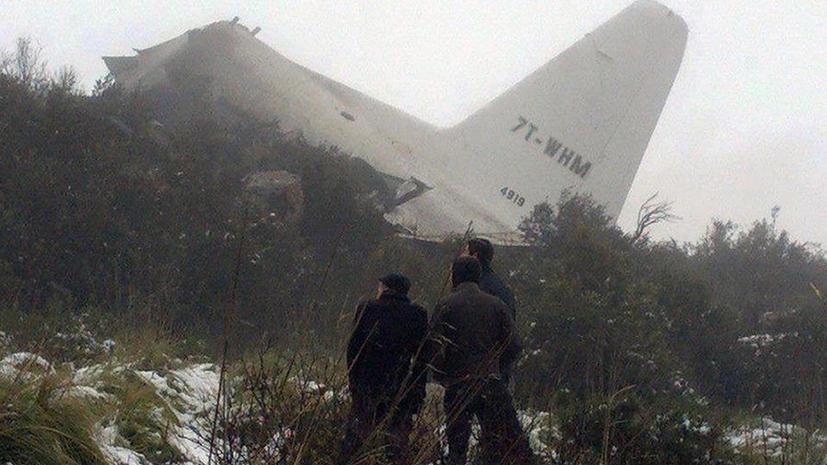 Жертвами авиакатастрофы в Алжире стали 77 человек