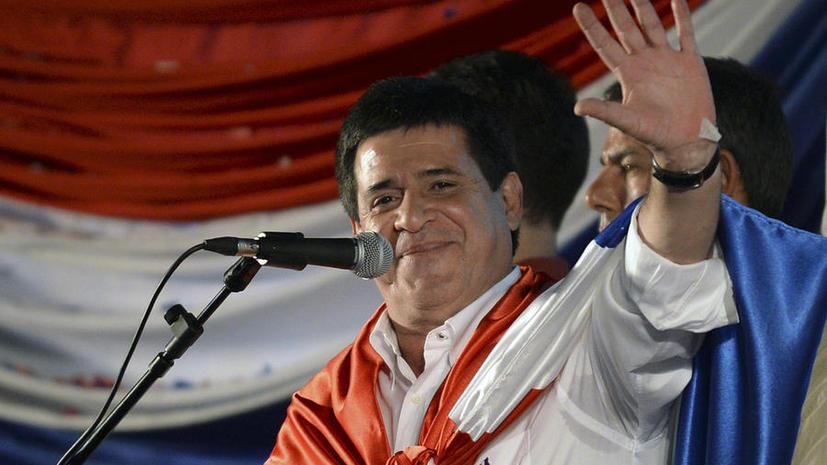 Кандидат от правящей партии проиграл президентские выборы в Парагвае