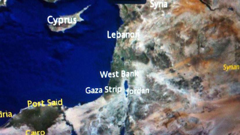 Уроки географии: Air France стёрла с карты Израиль
