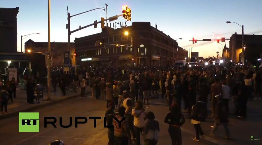 В Балтиморе продолжаются протесты