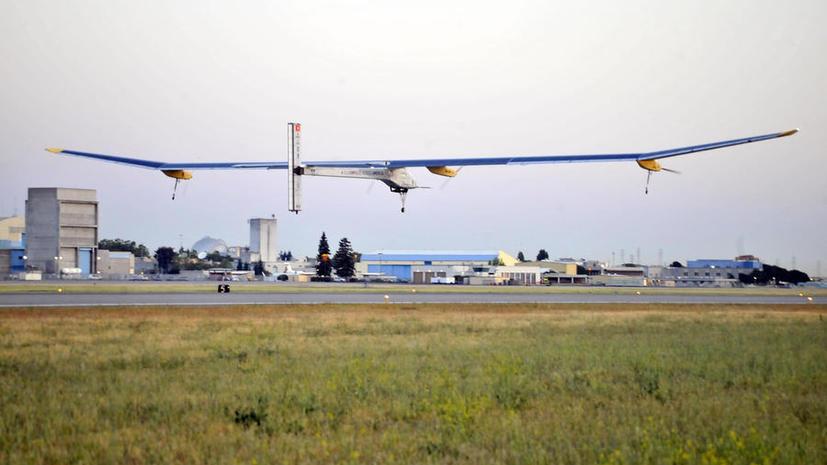 Самолёт Solar Impuls покоряет Америку на энергии солнца