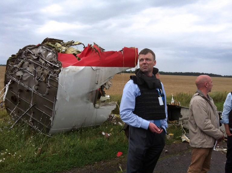 Участники контактной группы по Украине договорились о прекращении огня в районе крушения Boeing 777