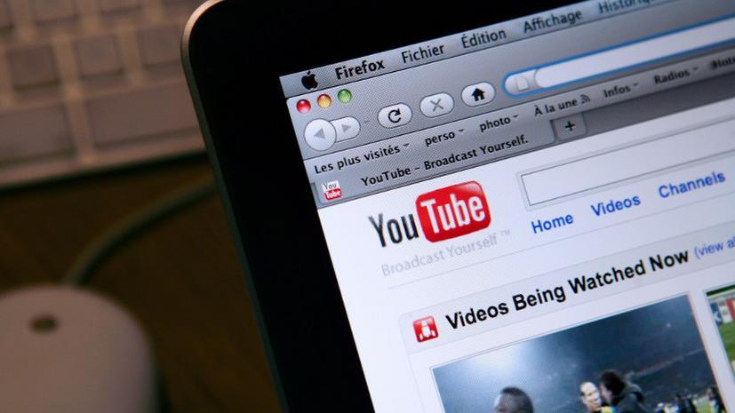 В России на 30 минут запретили YouTube