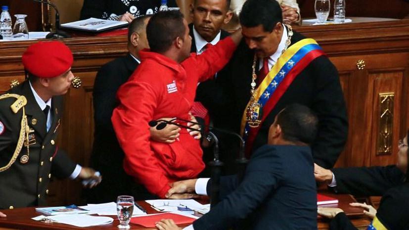 Пытавшийся сорвать церемонию инаугурации Николаса Мадуро проведет в тюрьме 45 суток