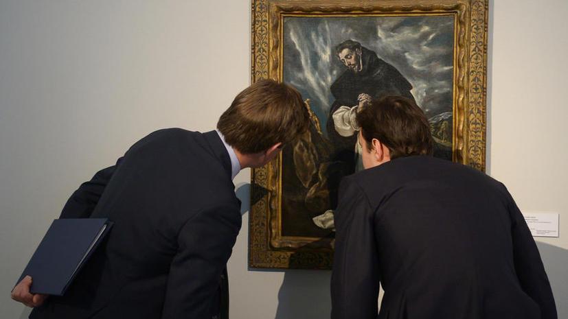 «Молитва святого Доминика» Эль Греко установила рекорд на Sotheby's