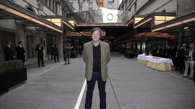 Британский актёр Стивен Фрай признался, что пытался покончить с собой