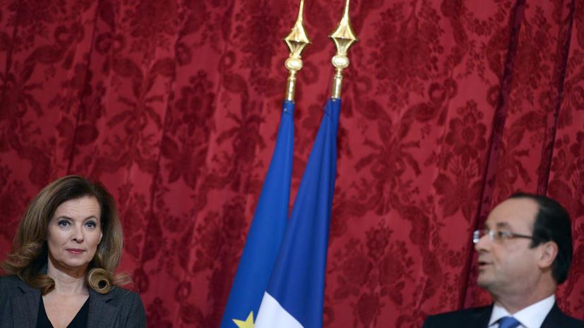 Администрация Франсуа Олланда отрицает информацию о его разрыве с подругой
