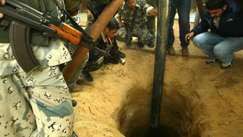 Израильские военные обнаружили подземный тоннель боевиков ХАМАС