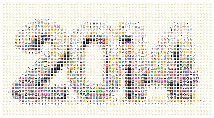 Самым популярным словом 2014 года стал значок эмоджи