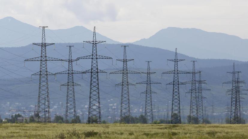 Украина сообщила о прекращении подачи электроэнергии в Крым