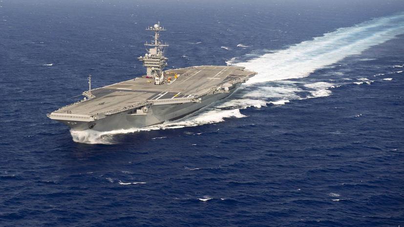 США из-за нехватки денег сокращает число авианосцев в Персидском заливе