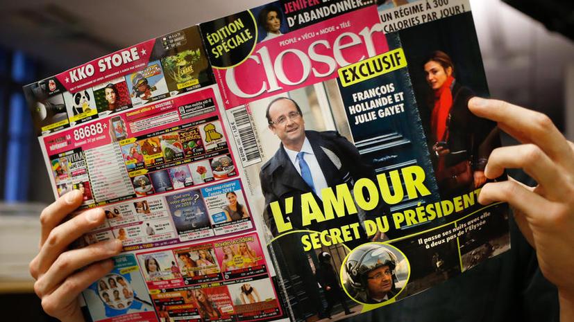 Французские СМИ обвинили Франсуа Олланда в измене