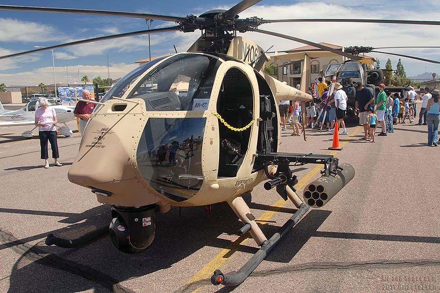 Саудовская Аравия закупит 36 боевых  вертолетов «маленькая птичка»