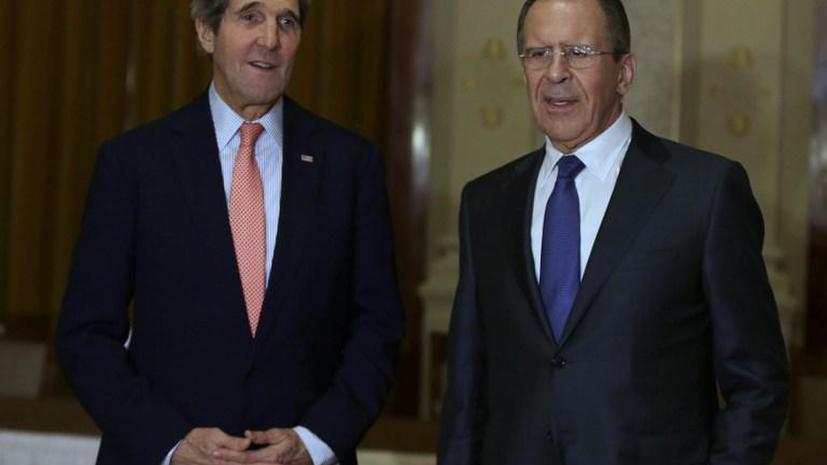 Лавров призвал Керри уважать право жителей Крыма самим определять свою судьбу