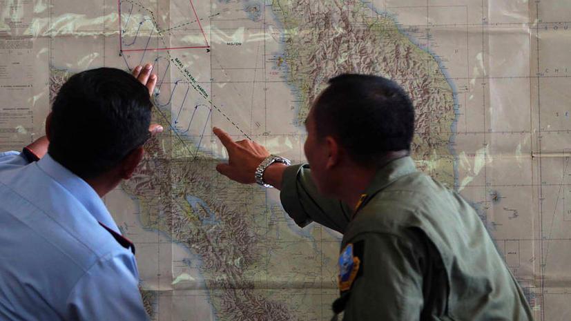 Китайский спутник зафиксировал предполагаемое место крушения лайнера авиакомпании Malaysia Airlines