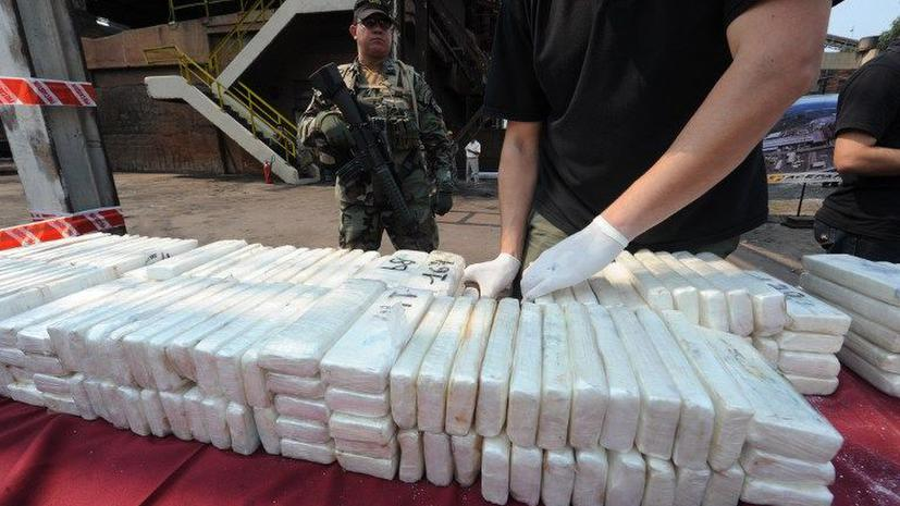 К берегам Дании прибило 100 килограммов кокаина
