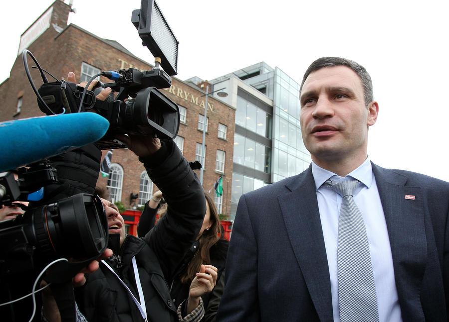 Виталий Кличко не будет участвовать в выборах президента Украины